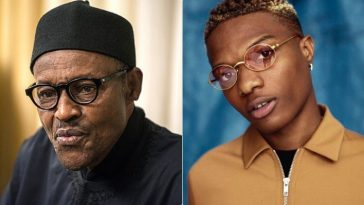 """Ole Ni Buhari"" - Wizkid Caught On Camera Calling President Buhari A 'Thief' [Video] 12"
