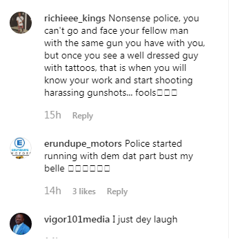 Nigerians Reacts As Policemen Run For Their Lives On Seeing Gunmen Along Benin-Ore Road [Video] 3