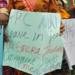 Imo Women Protest Against Governor Ihedioha Over Slapping Of Okorocha's Daughter [Photos] 8