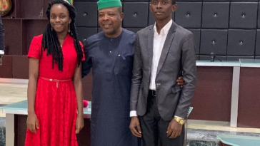 Governor Ihedioha Awards Scholarships To 2 Students From Imo State Who Made 9As In WAEC [Photos] 4