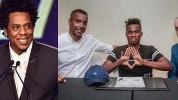 Jay-Z Signs Super Eagles Star, Samuel Chukwueze To Roc Nation Sports [Photos] 4