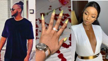 BamBam And Teddy A: Former BBNaija Housemates Are Finally Engaged 2