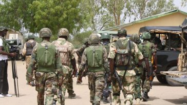 Nigerian Soldiers Opens Fire On Policemen, Kill 3 Officers Just To Free Arrested Kidnap Kingpin 4