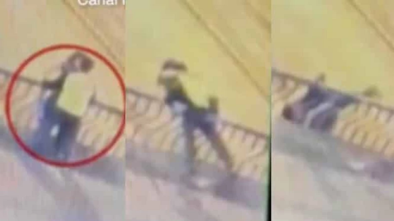 Couple From Night Club Falls To Their Death While Kissing Passionately On A Bridge [Video] 1