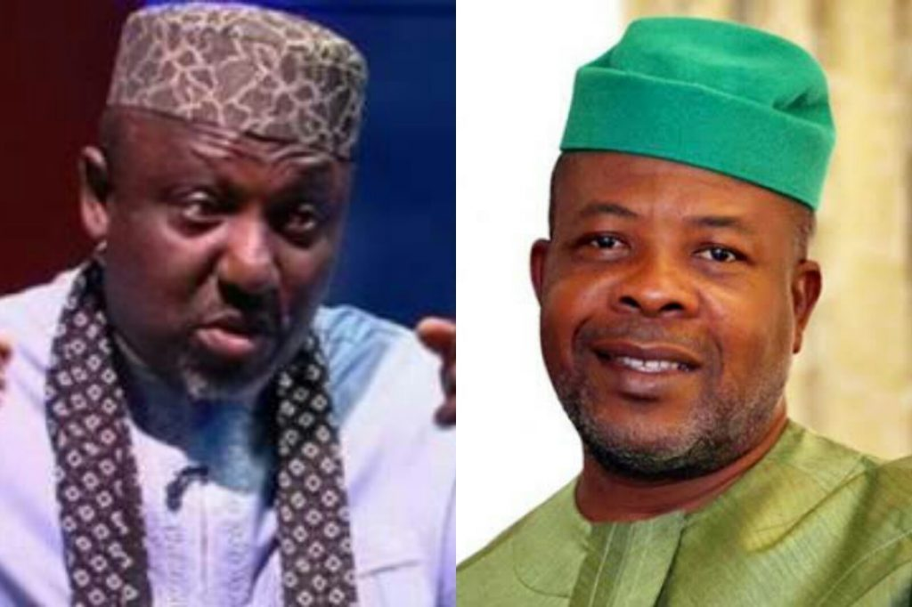 IMO: Okorocha Accuses Ihedioha Of Secretly Pulling Down His Projects At Night 1