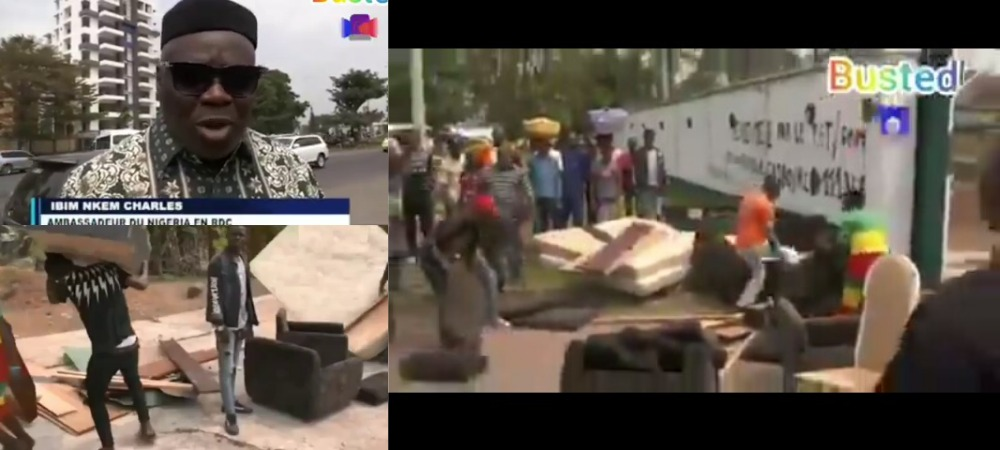 Nigerian Ambassador To Democratic Republic Of Congo Ejected From Embassy [Video] 1