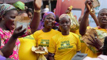Tradermoni: Buhari's Govt Resumes Sharing Of N10,000 In Bayelsa Ahead Of Guber Election 3
