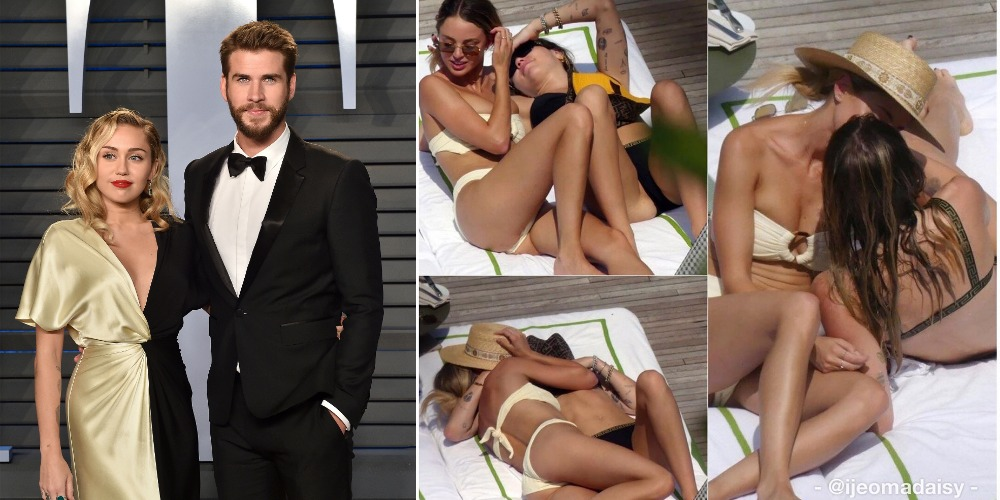 Miley Cyrus Spotted Kissing Kaitlynn Carter After Split From Husband, Liam Hemsworth 1