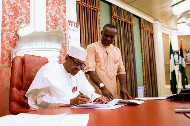 Buhari Reportedly Drops Ita Enang As National Assembly Aide, Picks Replacement 1