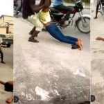 Lady 'Faints Repeatedly' On Lagos Busy Road In A Bid To Force Marriage On Boyfriend [video] 28