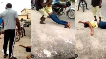Lady 'Faints Repeatedly' On Lagos Busy Road In A Bid To Force Marriage On Boyfriend [video] 14