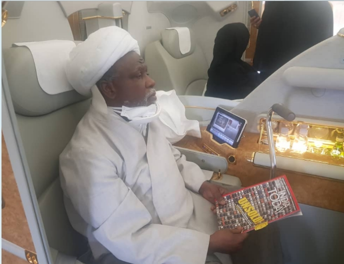 PHOTOS: Shiite Leader, El-Zakzaky And His Wife Arrives India For Medical Treatment 4