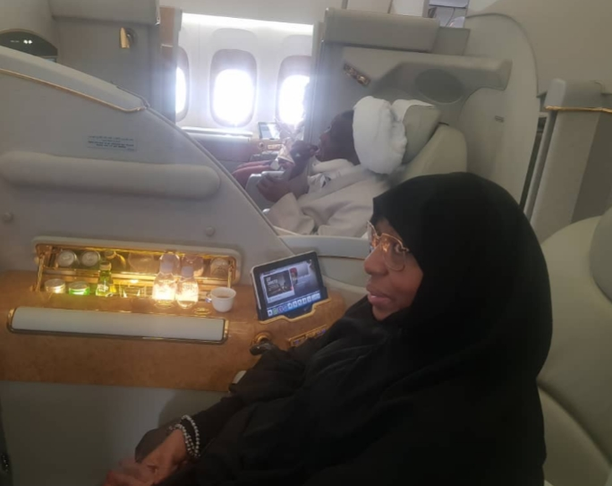 PHOTOS: Shiite Leader, El-Zakzaky And His Wife Arrives India For Medical Treatment 5