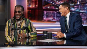 """Nigerians And Humility Don't Mix, They Like To Kick-Ass"" - Trevor Noah Tells Burna Boy 7"