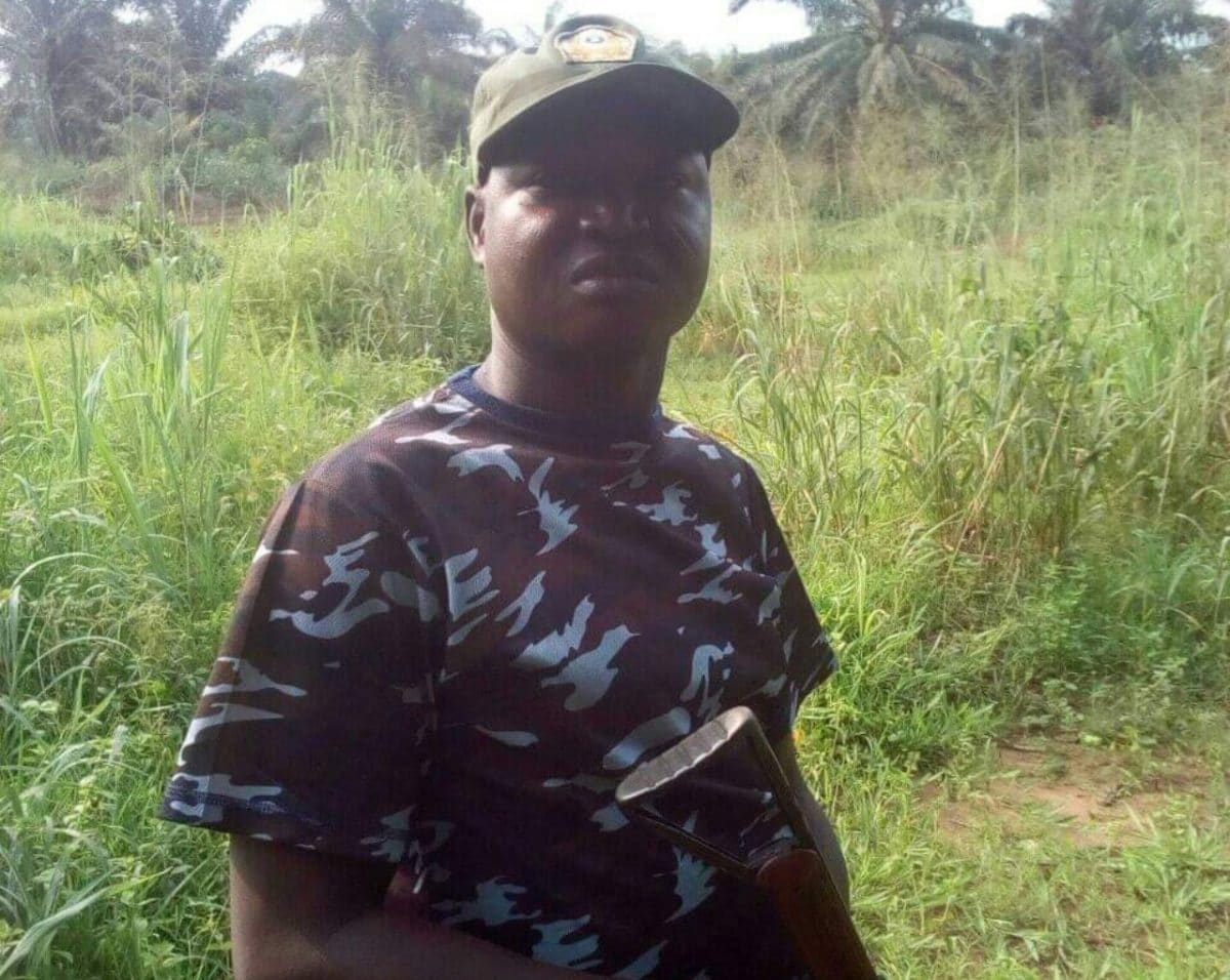 Police Officer Arrested For Blasting Buhari's Government, Vowing To Revenge Killing Of Colleagues By Army 1