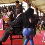 Vice President Rewards 'Daredevil Lady' With Cash After Twerking For Him [Video] 12