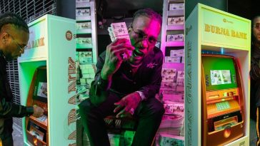 Burna Boy Teams Up With Spotify To Launch His Own Bank ''Burna Bank'' In New York [Photos/Video] 5