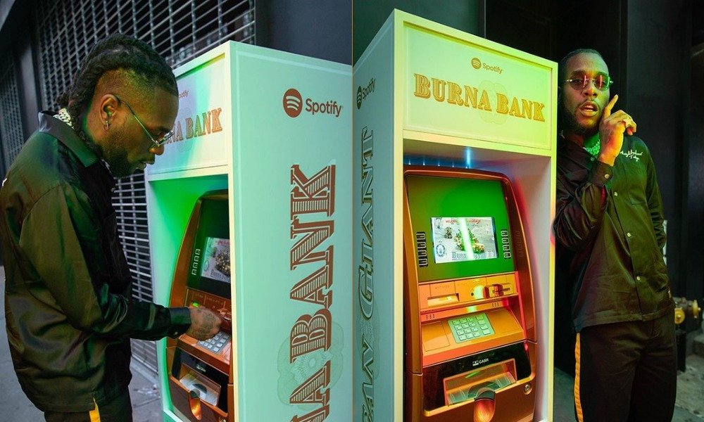 Burna Boy Teams Up With Spotify To Launch His Own Bank ''Burna Bank'' In New York [Photos/Video] 2