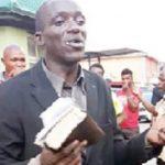 Embattled Evangelist Blames Devil After Being Caught Stealing Two Phones While Preaching In Ibadan 11