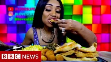 Meet Bethany Gasky, Woman Who Became A Millionaire Just By Eating Large Quantities Of Food 4