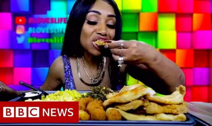Meet Bethany Gasky, Woman Who Became A Millionaire Just By Eating Large Quantities Of Food 2