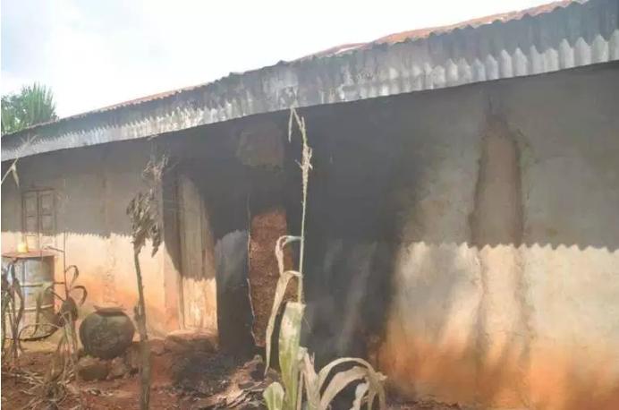 Man's House Burnt, Property Destroyed For Mistakenly Killing Neighbour's Dog In Enugu 1