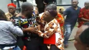 Ike Ekweremadu Attacked And Beaten Out Of Event In Germany By IPOB [Video] 2
