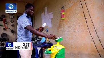 26-Year-Old Secondary School Graduate, Emeka Nelson Builds Generator That Runs On Water [Video] 6