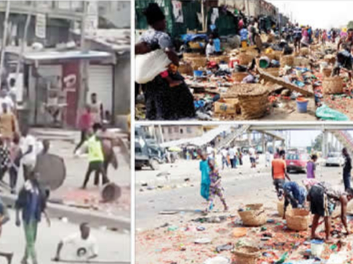 Two People Killed, Many Others Injured As Yoruba And Hausa Youths Clash In Lagos Market [Photos/Video] 1