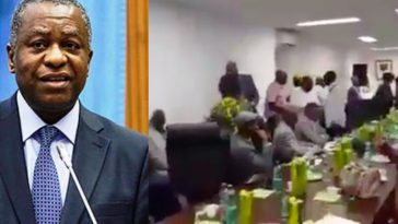 AGAIN! IPOB Attacks Minister Of Foreign Affairs, Geoffrey Onyeama In Austria [Video] 4
