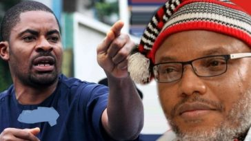 """Nnamdi Kani Is Senseless For Ordering IPOB To Attack Buhari In Japan"" - Deji Adeyanju 7"