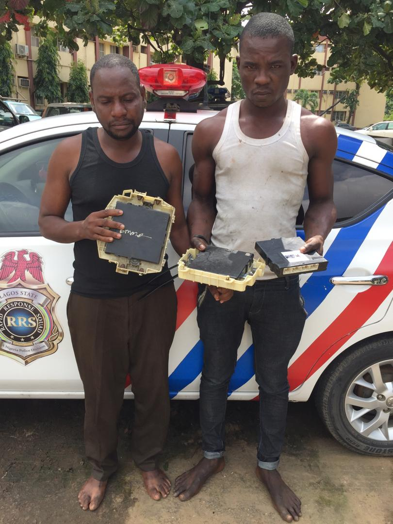 """""""How It Takes Us Two Minutes To Steal Vehicle's Brain Box"""" - Suspect Confesses To Police 1"""