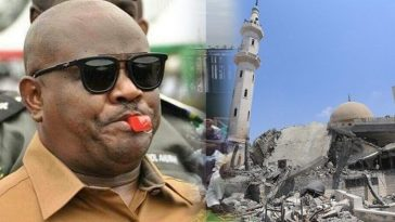 Governor Wike Demolishes Multi-million Naira Trans-Amadi Central Mosque In Rivers 3