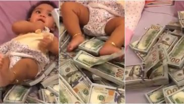 President Buhari's Aide Reacts As Igbo Man Turns Bundles Of Dollars Into Daughter's Bed [Video] 3