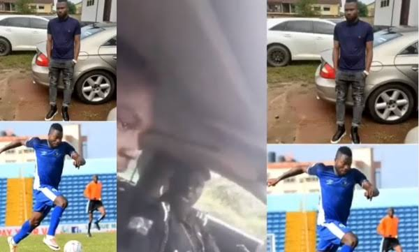 """Any Youth Who Owns A Benz Is A Yahoo Boy"" – Police Tells Enyimba Footballer, Stephen Chukwude 1"