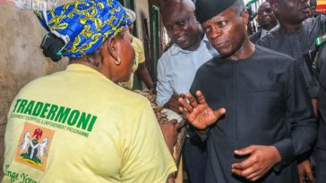 """Every Nigerian Deserves To Be Very Rich"" - Osinbajo Continues His TraderMoni Scheme 1"