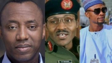 I Go Dye Asks President Buhari To Free Sowore, Reminds Him Of What Happened In 1983 12