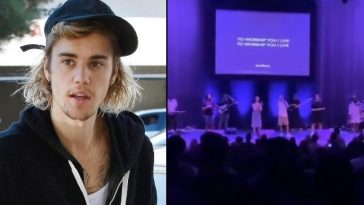 American Pop Singer, Justin Bieber Uses His Gift To Lead Worship At His Church [Video] 6