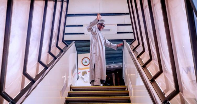 President Buhari Departs Japan For Abuja, Despite Nnamdi Kanu's Shocking Threat 1