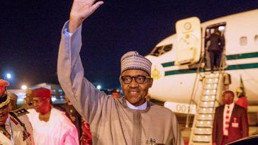 President Buhari Returns To Nigeria After Visiting Bola Tinubu In London