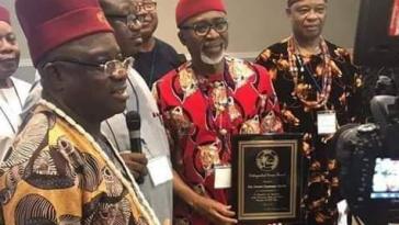 Senator Abaribe Dares Nnamdi Kanu And IPOB, Travels To US For Award Ceremony [Photos] 6