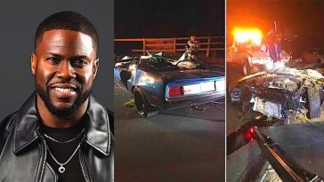 Kevin Hart, 2 Others Involved In Deadly Car Crash, Suffers Major Back Injury [Photo] 2