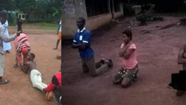 Father And Son Disgraced, Banished From Imo Community After Impregnating Daughter [Photos] 7