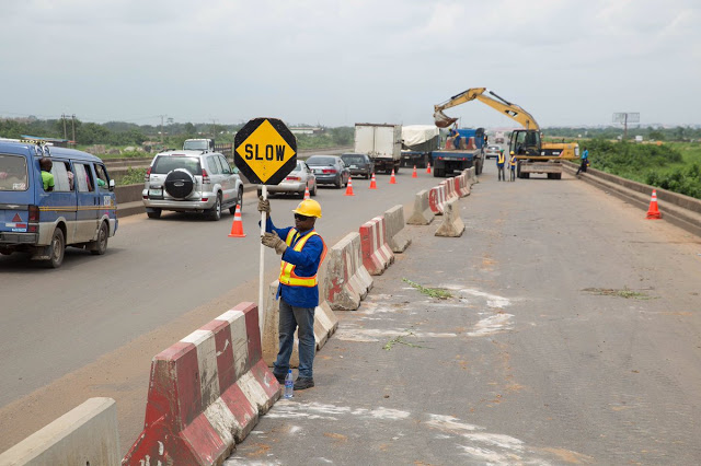 Lagos-Ibadan Expressway Partially Closed From Today Till 31st Of October 2019 [DETAILS] 1
