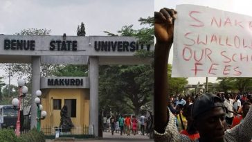 Benue State University Shuts Down Indefinitely Over Students Protest 1