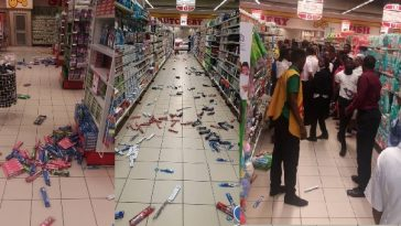 Xenophobia: Angry Nigerians Storm Lekki Shoprite, Shut Down Mall [Video] 7