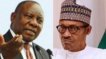 """I Have Sent Special Envoy To Ramaphosa"" - Buhari Finally Speaks On Xenophobic Attack 6"