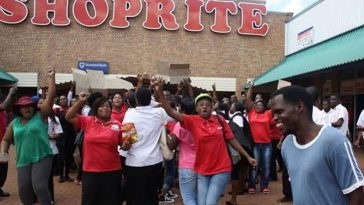 Xenophobic Attack: Police Stops Angry Protesters Who Are Planning To Burn Abuja Shoprite 12