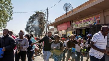 Zambian Youths On Rampage, Destroying South African Businesses In Zambia [Video] 6