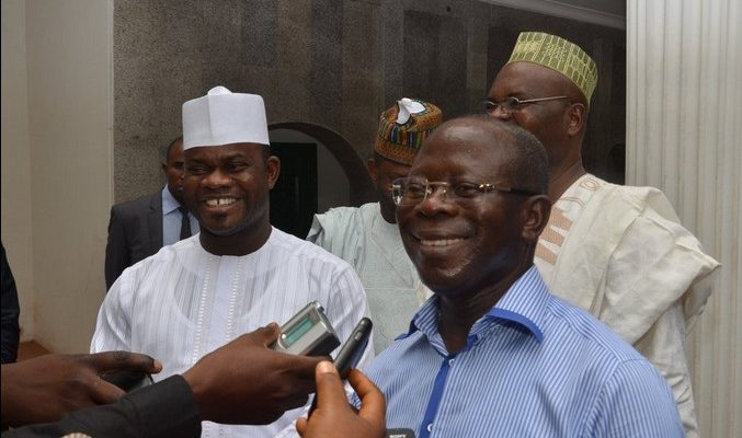 KOGI: Governor Yahaya Bello Has Done Better In 3 Years Than PDP In 13 Years - Oshiomhole 1